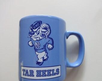 Vintage University of North Carolina Tarheels Coffee Mug