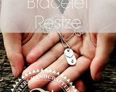 Bracelet Resize, Size Down Your Bracelet, Size Up Your Bracelet, Adjust The Size On Leather Bracelet