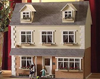 Dolls House Miniature Oak Hurst Gardens Garage