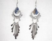 New Native American Style Lapis Earrings Southwestern, Hippie, Boho, Great Gift Ready to Ship