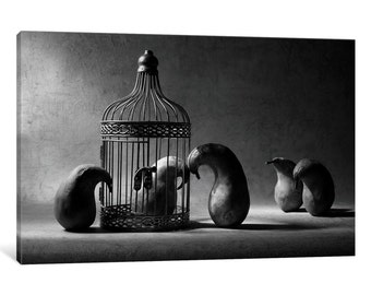 iCanvas The Political Prisoner Gallery Wrapped Canvas Art Print by Victoria Ivanova