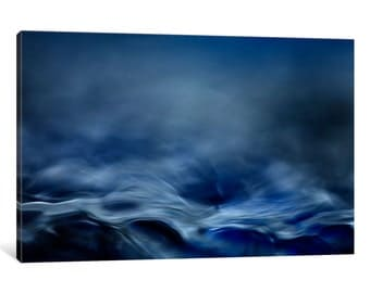 iCanvas Blue Fantasy Gallery Wrapped Canvas Art Print by Willy Marthinussen