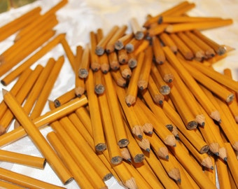 Half Pencils - Golf Pencils - Small wood Pencil lot