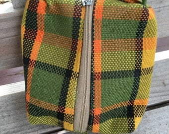 Yellow Westfalia Plaid Mini Bag