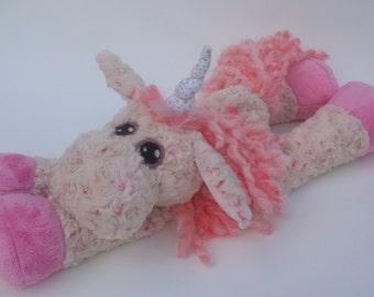 Plush Unicorn, Horse or Donkey HEATING PAD Pattern - Digital Download