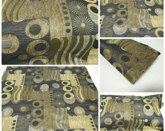 Upholstery Fabric- Remnant Fabric- pc w27inx26.5in L- Mistic - polyester Upholstery Fabric