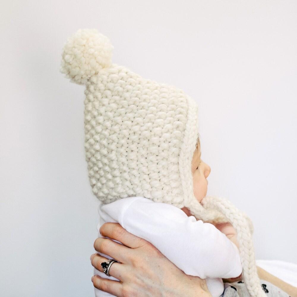 Knit Bonnet Pattern : Baby hat pattern hygge childrens knits baby bonnet