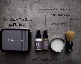 MEN COLLECTION. Preshave Oil. After Shave Balm. Clean Shave Soap. Organic Soap.
