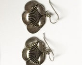 Laurel Burch Sterling Silver Flower Earrings - Retired Design and Discontinued Jewelry Line - Vintage