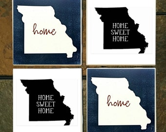 Missouri State home Coaster Set