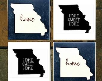 Missouri State home Coaster Set