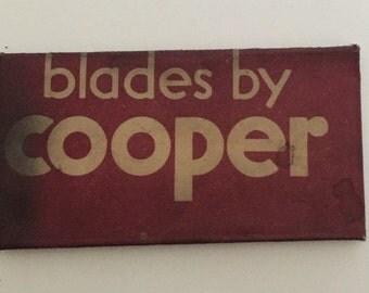Double Edge Razor Blade Cooper