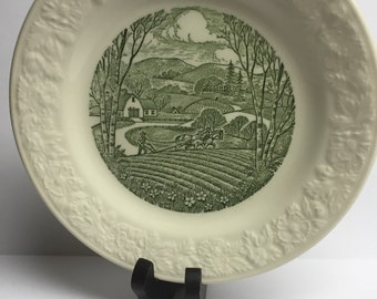 Taylor Smith and Taylor 7 inch Salad Plate 1955