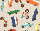 Wheels 2 by Deena Rutter for Riley Blake Designs, Main Tan, SKU C5040, 1 yd