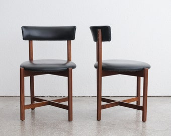 Pair of Mid Century Barrel Back Chairs