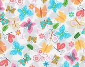 Spring Butterflies from Robert Kaufman's Jump Into Fun Collection by Amy Schimler-Safford