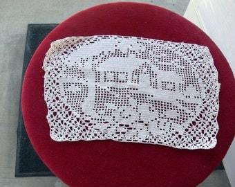 white Doilies - Handmade Item