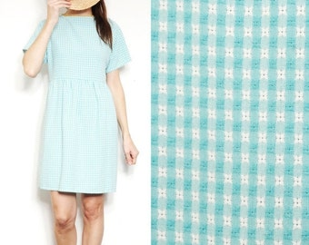 SALE Checked Smock Dress [Mexican Summer]