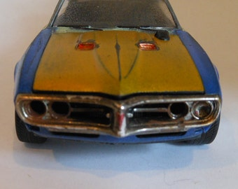 Scale Model Car Classicwrecks Rusted Wreck Firebird