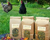 Herbs for Hens COOP CONFETTI™ Chicken Nesting Area Aromatherapy 1/4 lb 4 oz Organic Dried  Herbs Mint Lavender Rosebud Chamomile Calendula