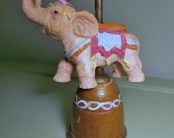 Vintage Carousel Elephant Thimble