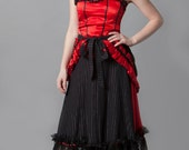 Steampunk, red riding hood, little red riding hood, costume, cosplay, fairy tale, costume party~Saint or A Sinner (Red Riding Hood Costume)