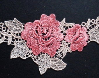 Good quality lace Applique price for 1 piece