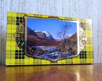 Vintage Scottish shortbread tin - Glen Shortbread