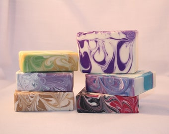 Sale, Buy 5 Bars of Soap and additional bar of Soap FREE! Your Choice any bars of soap from my listing of Handmade Scented Artisan Soap