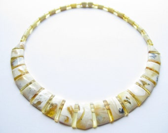Unique Luxury Baltic Amber Choker Cleopatra
