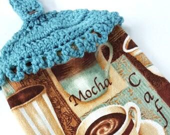 Crochet Kitchen Hanging Dish Towel Crochet Top Towel Decoration