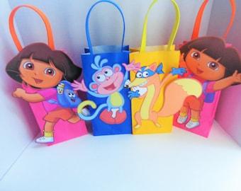 Dora & Diego Favor bags