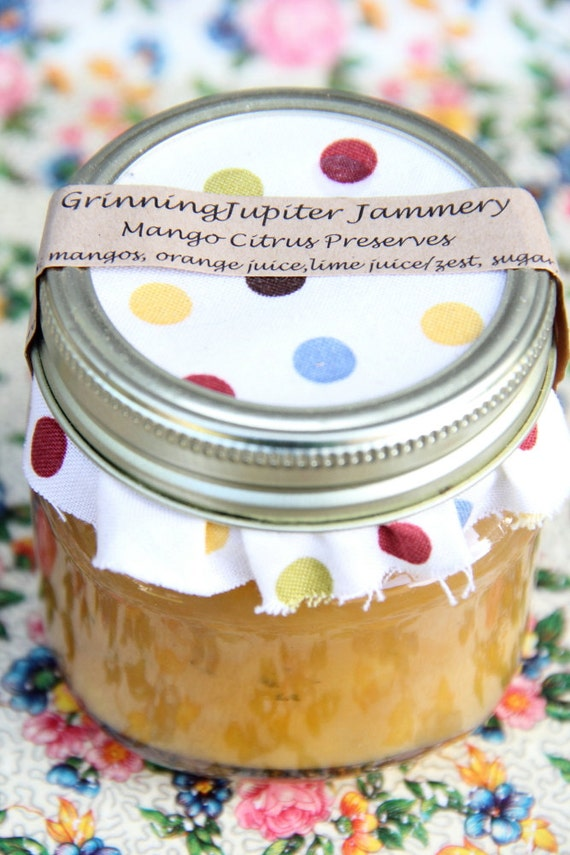 Mango - Citrus Preserves - 8oz