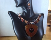 Baubles in Agate and Tourmeline