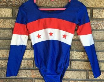 Vintage Leotard / Bodysuit / Gymnastics / Dance Wear