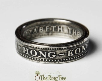 Hong Kong - 50 Cent - Coin Ring