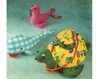 Turtle Pattern Stuffed Animals Giant Turtle Simplicity 5331