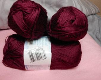 Alize Miss Solid 495 burgundy/wine