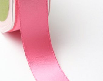 7/8 Inch Double Faced Satin Ribbon by the yard Lots of Colors to Choose From