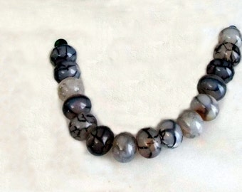 Dragon Scale Agate Beads