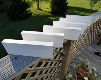6 Piece PRIMED Shelf Sitters