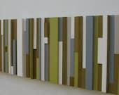 Painting,Abstract Art on Wood, Wall Art , Wood Wall Art