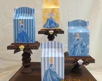 Cinderella Gable Treat/Favor Boxes (Set of 8)