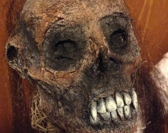 Corpse Voodoo Doll / Spirit Doll / Handmade