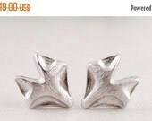 50% OFF FOXY >> 18k rose gold or silver fox studs