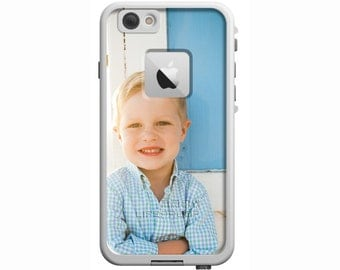 Custom Photo Personalized LifeProof Fre or Nuud iPhone 6 Plus, iPhone 6, iPhone 5/5s, iPhone SE, iPhone 5c Custom Phone Case