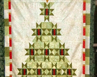 Illuminaries Christmas quilt  45x35