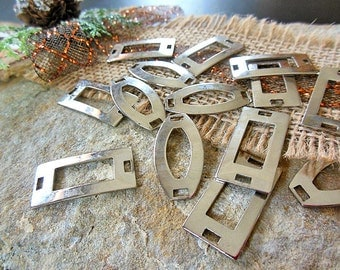 Silver Findings, Assemblage Jewelry, Fasteners, Jewelry Findings, Jewelry Supplies, Necklace Supplies, For Jewelry Making, Jewelry Tools
