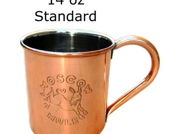 Moscow Mule Copper Cup 14 oz. Standard