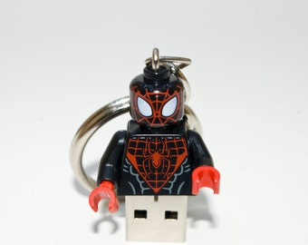128GB Spider-Man USB Flash Drive with Key Chain